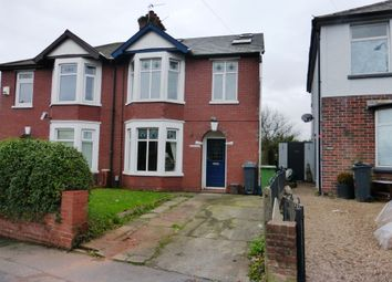 Thumbnail 4 bed semi-detached house for sale in Wentloog Road, Rumney, Cardiff