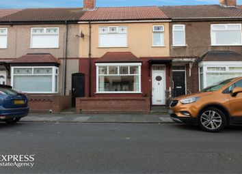 Thumbnail 3 bed terraced house for sale in Ashgrove Avenue, Hartlepool, Durham