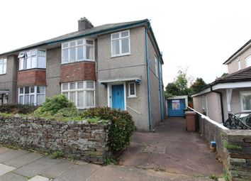 Thumbnail 3 bedroom semi-detached house for sale in Torland Road, Hartley, Plymouth