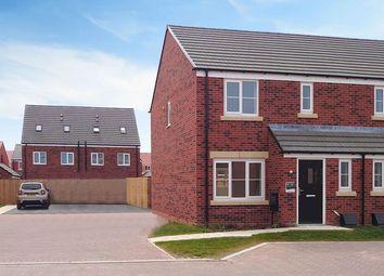 Thumbnail 3 bed semi-detached house to rent in Morton Close, Hampton Gardens, Peterborough