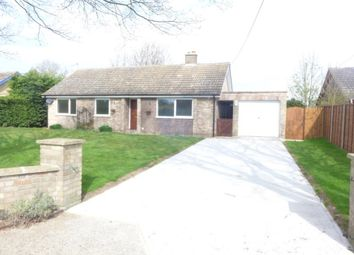 Thumbnail 3 bed bungalow to rent in The Sycamores, Herringswell