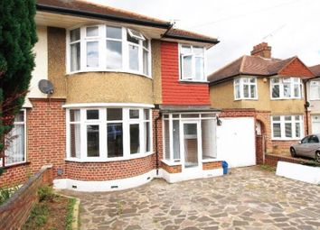 Thumbnail 3 bed semi-detached house to rent in Beverley Crescent, London