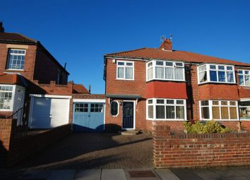 Thumbnail 3 bedroom semi-detached house for sale in The Fellside, Kenton, Newcastle Upon Tyne