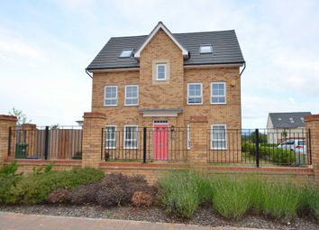 Thumbnail 4 bedroom town house for sale in Mauretania Way, Brooklands, Milton Keynes