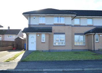 Thumbnail 3 bed end terrace house for sale in Avenue End Drive, Glasgow