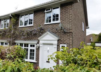 Thumbnail 4 bed semi-detached house for sale in Pinetrees Close, Copthorne, Crawley