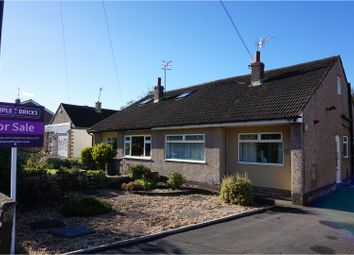 Thumbnail 3 bed semi-detached bungalow for sale in Hallowes Park Road, Cullingworth