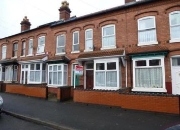 Thumbnail 2 bed terraced house to rent in Shenstone Road, Birmingham