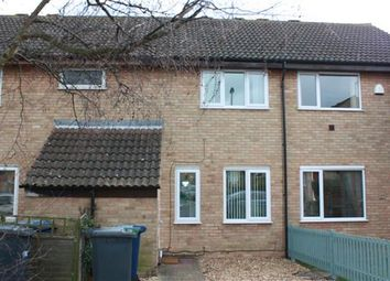 Thumbnail 3 bedroom terraced house to rent in Edinburgh Drive, St. Ives, Huntingdon