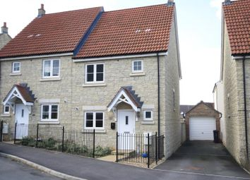 Thumbnail 3 bed semi-detached house to rent in Purcell Road, Redhouse, Swindon, Wiltshire