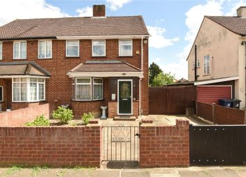 Thumbnail 3 bed semi-detached house for sale in Edward Road, Northolt, Middlesex