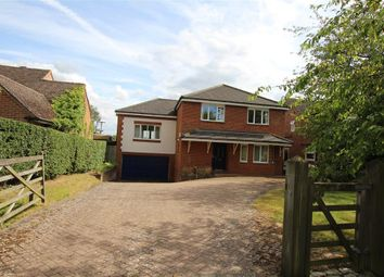 Thumbnail 4 bedroom detached house for sale in Southend Road, Bradfield Southend, Reading
