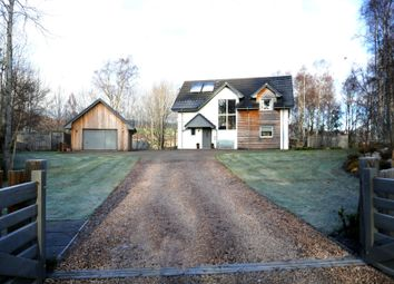 Thumbnail 4 bed detached house for sale in The Brae, Kincraig, Kingussie