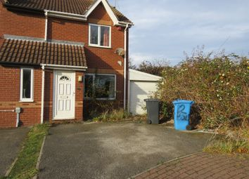 Thumbnail 2 bed semi-detached house for sale in Hollywell Close, Hull