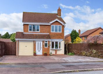 Thumbnail 4 bed detached house for sale in Grazing Lane, Webheath, Redditch