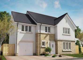 "Thumbnail 5 bed detached house for sale in ""The Darroch"" at Eaglesham Road, East Kilbride, Glasgow"