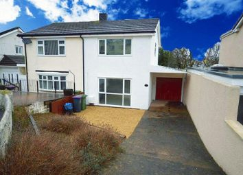 Thumbnail 3 bed semi-detached house for sale in Parklawn Close, Pontnewydd, Cwmbran