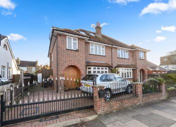 Thumbnail 5 bed semi-detached house for sale in Erlesmere Gardens, London