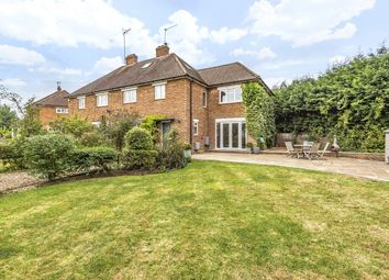 Thumbnail 4 bed semi-detached house for sale in Broadwood Cottages, Vicarage Lane, Capel, Surrey