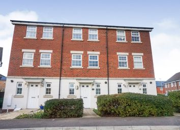 Thumbnail 3 bed town house for sale in Burrows Close, Grantham