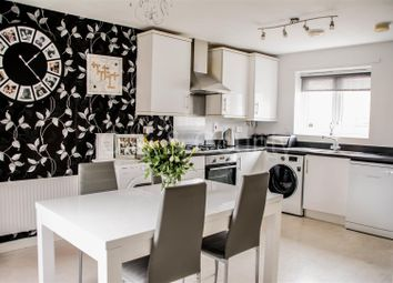 Thumbnail 3 bed semi-detached house for sale in Luna Way, Peterborough