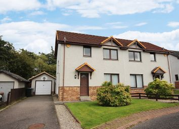 Thumbnail 3 bed semi-detached house for sale in 21 Neil Gunn Crescent, Inshes, Inverness