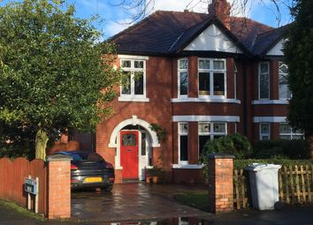 Thumbnail 3 bed terraced house to rent in Knutsford Road, Wilmslow, Cheshire