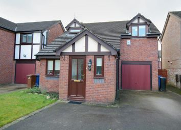 Thumbnail 3 bed detached house for sale in Oriel Close, Heaviley, Stockport