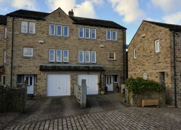 Thumbnail 4 bed town house for sale in Sike Close, Totties, Holmfirth