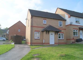 Thumbnail 3 bed end terrace house to rent in St. Nons Close, Brackla, Bridgend.