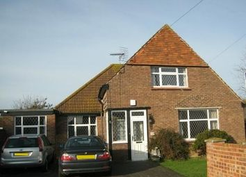 Thumbnail 4 bed bungalow to rent in Croft Road, Selsey, Chichester