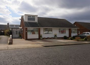 Thumbnail 3 bed semi-detached bungalow for sale in Bracknell Gardens, Chapel House, Newcastle Upon Tyne