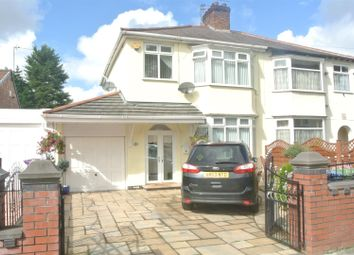 Thumbnail 3 bed semi-detached house for sale in Grant Road, Dovecot, Liverpool