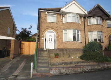 Thumbnail 3 bed semi-detached house for sale in Queensgate Drive, Birstall, Leicester