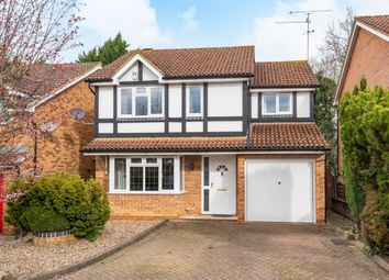 Thumbnail 4 bed detached house for sale in Merryweather Close, Wokingham