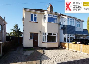 Thumbnail 3 bed semi-detached house to rent in Leighcroft Gardens, Leigh-On-Sea