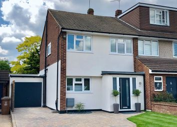 Thumbnail 3 bed semi-detached house for sale in Lesley Close, Bexley