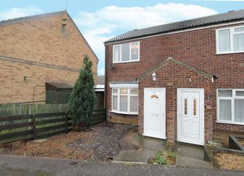 Thumbnail 2 bed semi-detached house for sale in Fetlock Close, Clapham, Bedfordshire