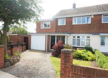 Thumbnail 4 bed semi-detached house for sale in Lambton Drive, Hetton Le Hole