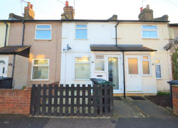 Thumbnail 2 bed terraced house to rent in Stanhope Road, Swanscombe