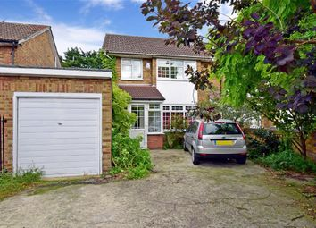 Thumbnail 4 bedroom semi-detached house for sale in Crownfield Avenue, Newbury Park, Ilford, Essex
