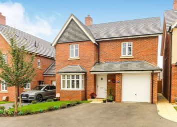 Thumbnail 4 bed detached house for sale in Junction Way, Thrapston, Kettering