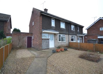 Thumbnail 2 bed semi-detached house for sale in Bradfield Road, North Walsham