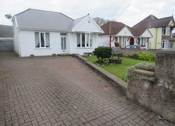 Thumbnail 3 bed detached bungalow for sale in Pontardawe Road, Clydach, Swansea