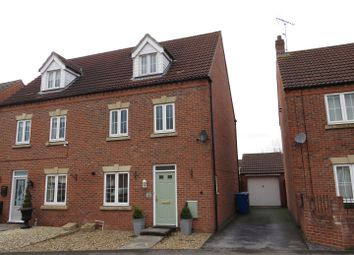 Thumbnail 4 bed town house for sale in Kensington Way, Worksop