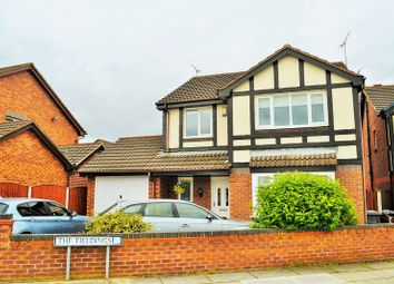 Thumbnail 4 bed detached house for sale in The Fieldings, Lydiate, Liverpool