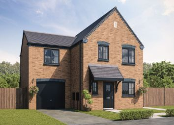 Thumbnail 3 bed detached house for sale in Essendene Rise, Freeman Way, Ashington, Northumberland