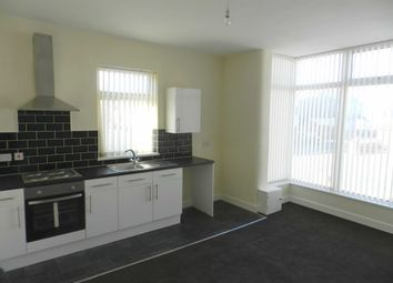 Thumbnail 1 bed flat to rent in Warley Road, North Shore, Blackpool