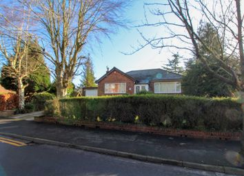 Thumbnail 2 bed detached bungalow for sale in Fir Road, Bramhall, Stockport