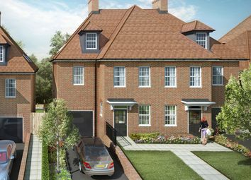 "Thumbnail 5 bed semi-detached house for sale in ""Cascade"" at Barnet Road, Arkley, Barnet"